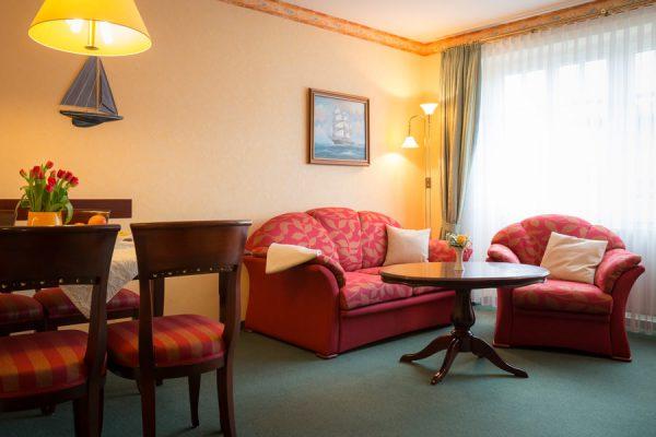 Appartement auf der Insel Rügen vom Ferienhaus Hanseatic im Ostseebad Baabe