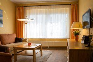Ferienhaus im Ostseebad Baabe auf der Insel Rügen - 2-Raum-Appartement Kogge