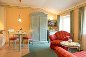 Appartements im Ostseebad Baabe auf der Insel Rügen – Zimmer im 2-Raum-Appartement der Villa Hanseatic