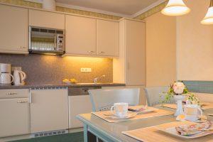 Ostseebad Baabe auf der Insel Rügen – Zimmer der Fewo im Apartmenthaus Hanseatic auf Mönchgut