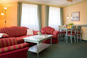 Ferienwohnung im Ostseebad Baabe auf der Insel Rügen – 3-Raum-Appartement im Ferienhaus Hanseatic