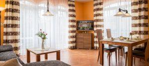 Zimmer der Ferienwohnung Strandflair im Ostseebad Baabe auf der Insel Rügen an der Ostsee