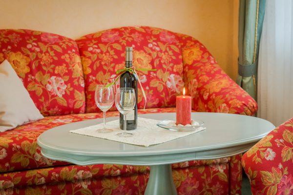 Ostseebad Baabe auf der Insel Rügen – Appartement-Zimmer in der Villa Hanseatic