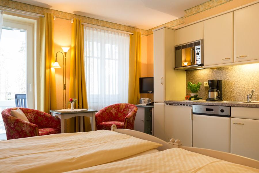 Rügen-Ferienwohnung im Ostseebad Baabe – Fewo vom Appartementhaus Hanseatic