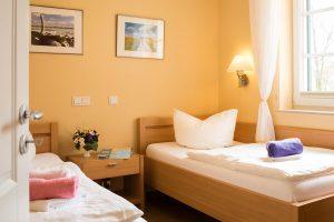 Rügen-Fewo im Ostseebad Baabe - Schlafzimmer der Ferienwohnung Strandflair an der Ostsee
