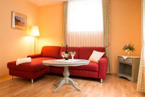 Rügen-Urlaub im Ostseebad Baabe in der Fewo im Appartementhaus Hanseatic