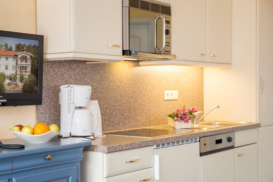 Unterkunft auf der Insel Rügen im Ostseebad Baabe – Zimmer im Apartmenthaus Hanseatic