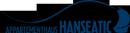 Logo vom Apartmenthaus Hanseatic im Ostseebad Baabe auf Rügen