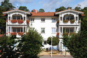 Apartmenthaus Hanseatic im Ostseebad Baabe auf der Insel Rügen an der Ostsee