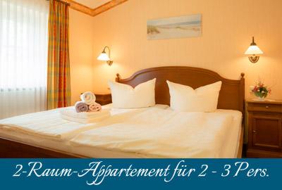 Ferienwohnung im Ostseebad Baabe auf Rügen – 2-Raum-Apartment im Appartementhaus Hanseatic