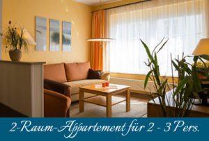Rügen-2-Raum-Appartement im Ostseebad Baabe auf der Insel Rügen – Ferienhaus Kogge