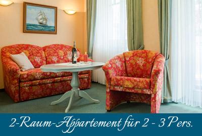 Ferienwohnung im Ostseebad Baabe auf Rügen – 2-Raum-Wohnung im Appartementhaus Hanseatic